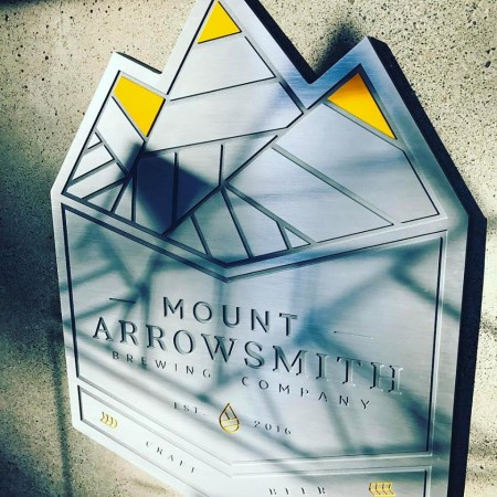 Mount Arrowsmith Brewing Opening This Weekend in Parksville on Vancouver Island