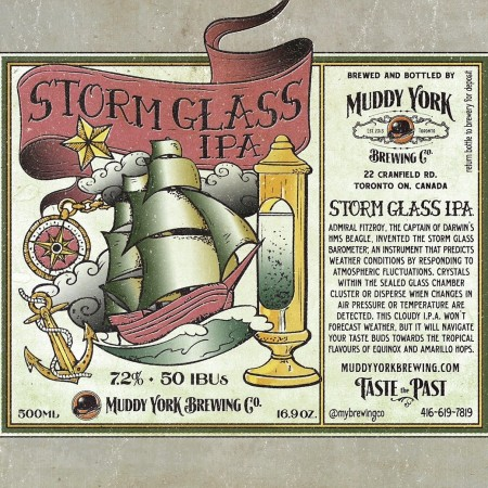 Muddy York Releases Storm Glass IPA