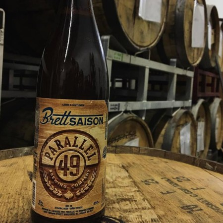 Parallel 49 Barrel Aged Series Continues with Brett Saision