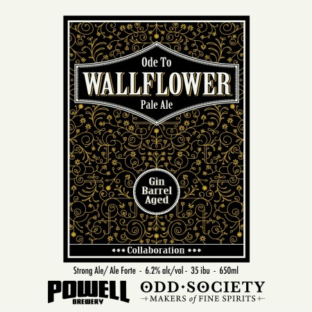Powell Brewery & Odd Society Spirits Bringing Back Ode to Wallflower Pale Ale