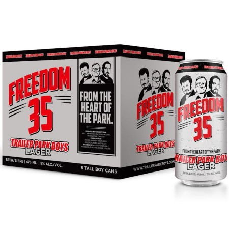 Trailer Park Boys Freedom 35 Lager Available Soon In