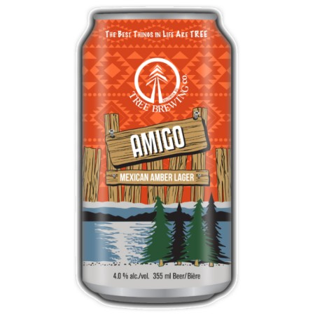 Tree Brewing Adding Amigo Mexican Amber Lager to Year Round Line-Up