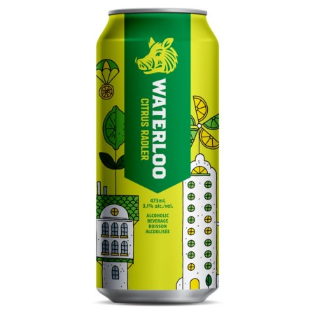 Waterloo Brewing Citrus Radler Now Available