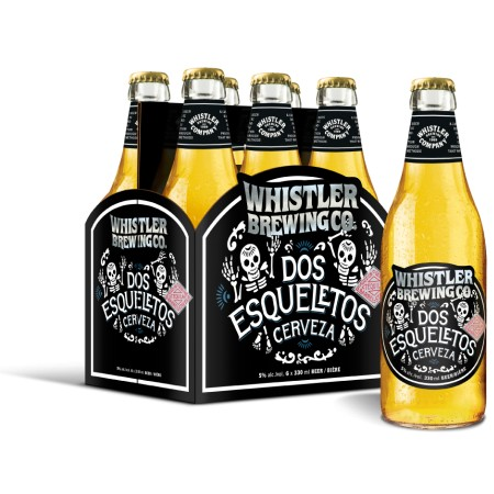 Whistler Brewing Releases Dos Esqueletos Mexican-Style Lager