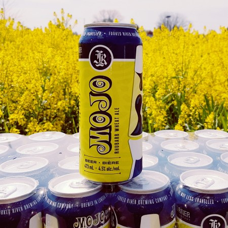 Forked River Mojo Rhubarb Wheat Ale Returning in Cans