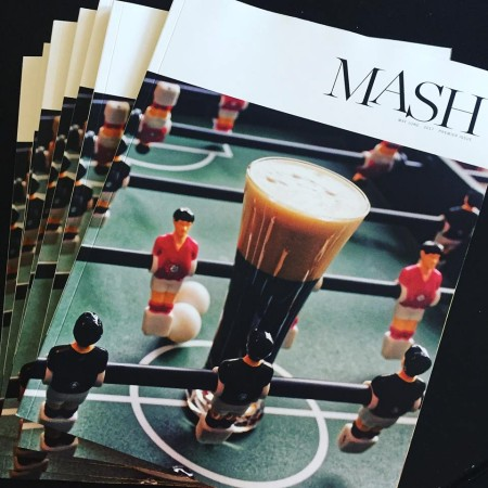 Premier Issue of MASH Magazine Now Available