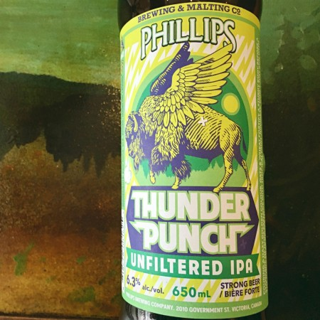 Phillips Brewing Releases Thunder Punch Unfiltered IPA