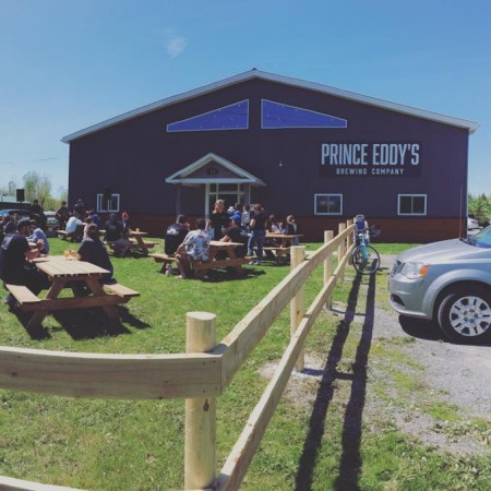 Prince Eddy's Brewing Now Open in Ontario's Prince Edward County