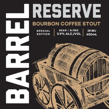 Railway City Barrel Reserve Series Continues with Bourbon Coffee Stout