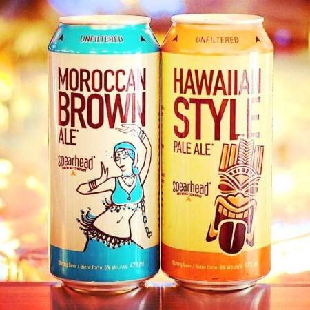 Spearhead Shifts to Cans for Hawaiian Style Pale Ale & Moroccan Brown Ale