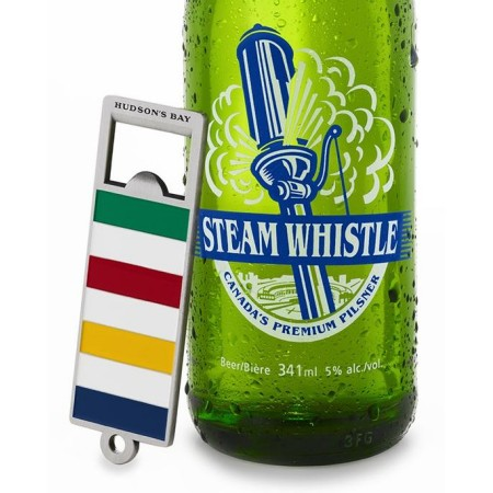Steam Whistle Partners with Hudson's Bay Company for 2017 Retro Opener & Barware Collection
