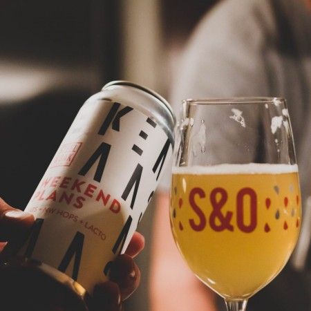 Steel & Oak Single Batch Can Series Continues with Weekend Plans