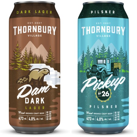 Thornbury Village Launches New Look for Beer & Cider Brands