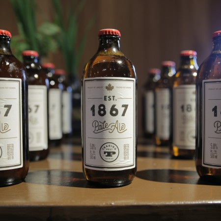 Trading Post Brewing & Fort Langley National Historic Site Release Est. 1867 Pale Ale