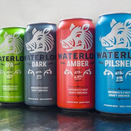 Waterloo Brewing Launches New Branding & Updated Website