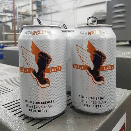 Wellington Brewery Releasing Helles Lager