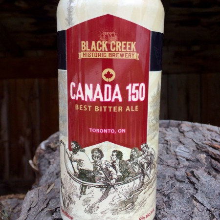 Black Creek Historic Brewery Releases Canada 150 Best Bitter Ale