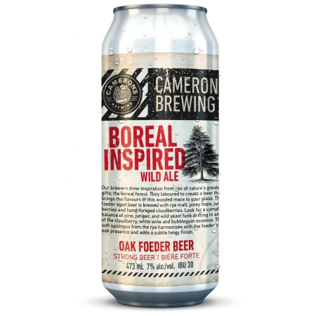 Cameron's Releases Foeder-Aged Boreal Inspired Wild Ale