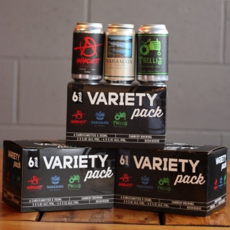 Cannery Brewing Releases New Cannery Collection Variety Pack