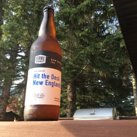 Fernie Brewing Adds Hit the Deck New England IPA to Limited Release IPA Series