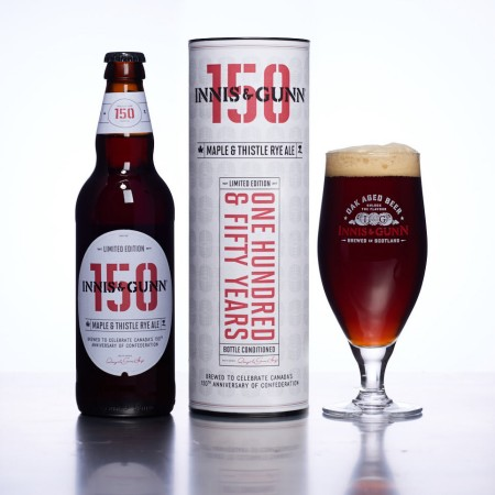 Innis & Gunn Honours Canada's 150th Anniversary With Maple & Thistle Rye Ale
