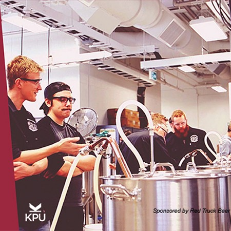 Kwantlen Polytechnic University Brewing Program Holding Info Night at Red Truck Beer