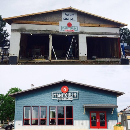 Manitoulin Brewing Now Open on Manitoulin Island