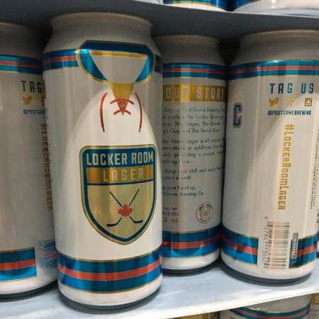 Locker Room Lager Beer