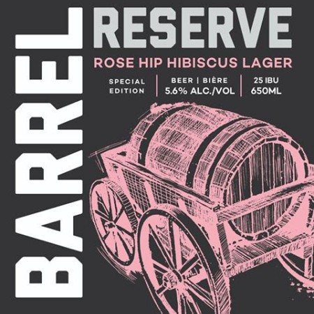 Railway City Barrel Reserve Series Continues with Rose Hip Hibiscus Lager