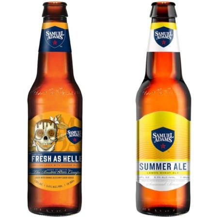 Samuel Adams Spring & Summer Seasonal Brands Now Available in Ontario