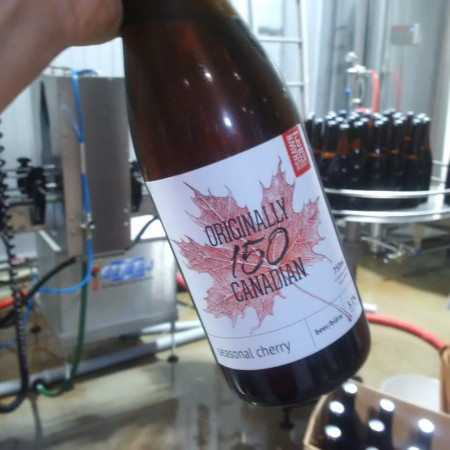 Shawn & Ed Brewing Releases Originally Canadian 150 Cherry Lager