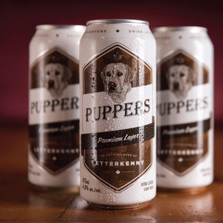 Letterkenny Pint Glass Puppers