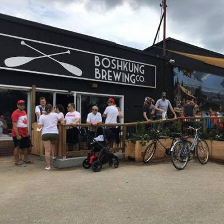 Boshkung Brewing Opens Taproom & Patio in Minden, Ontario