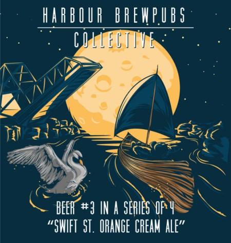 Harbour Brewpubs Collective Releases Swift St. Orange Cream Ale