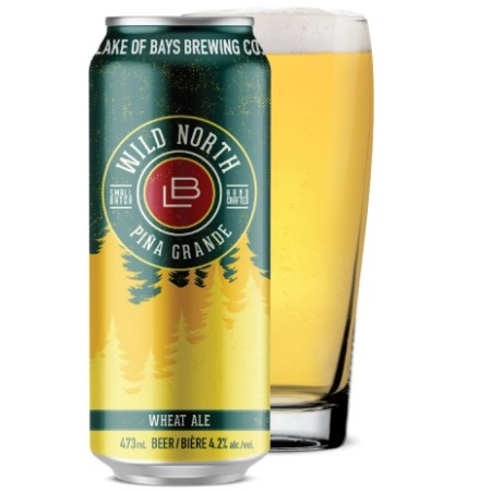 Lake of Bays Continues Wild North Series with Piña Grande Wheat Ale
