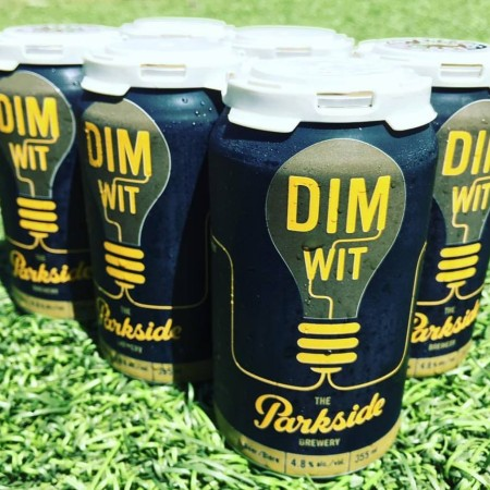 Parkside Brewery Dimwit Belgian Witbier Now Available in Cans