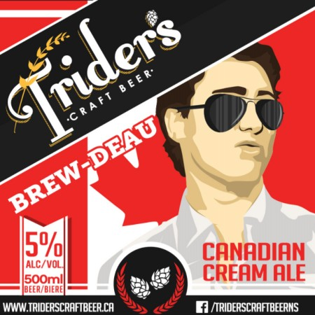 Trider's Brew-deau Named Most Canadian Beer at Brew Patriot Love Competition