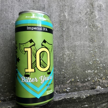 Black Oak 10 Bitter Years Now Available in Cans