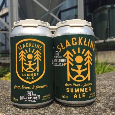 Hearthstone Brewery Launches Slackline Summer Ale