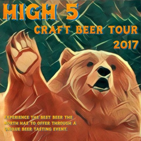 Five Northern B.C. Breweries Announce High 5 Beer Tour