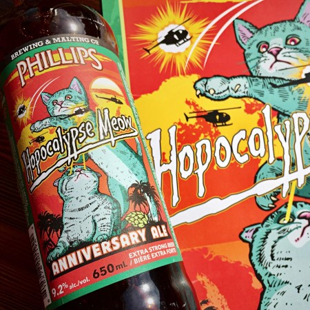 Phillips Releases Hopocolypse Meow 16th Anniversary Ale