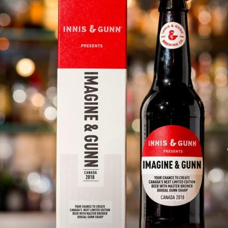 Innis & Gunn Canada Launches Imagine & Gunn Beer Idea Competition