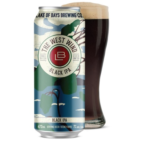 Lake of Bays to Honour Tom Thomson with The West Wind Black IPA