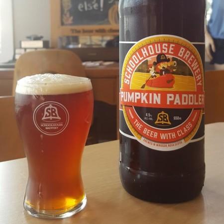 Schoolhouse Brewery Releases Pumpkin Paddler