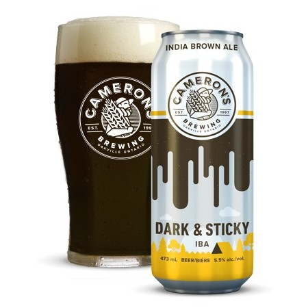 Cameron's Launches Dark & Sticky IBA in New Brewmaster's Selection Pack