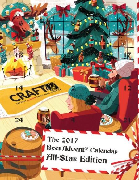 Craft Beer Advent Calendar Montreal