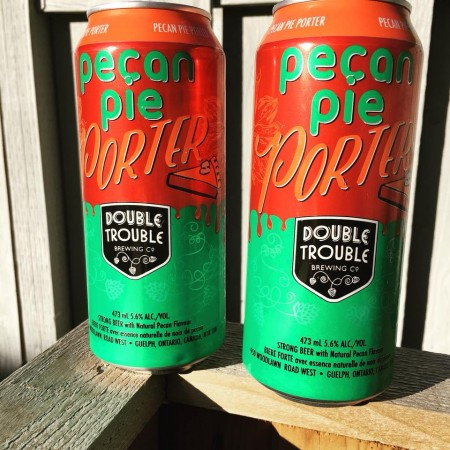 Double Trouble Pecan Pie Porter Now Available