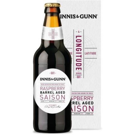 Innis & Gunn Launches Latitude & Longitude Series with Raspberry Barrel Aged Saison