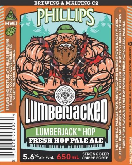 Phillips & BC Hop Co Release Lumberjacked Fresh Hop Pale Ale