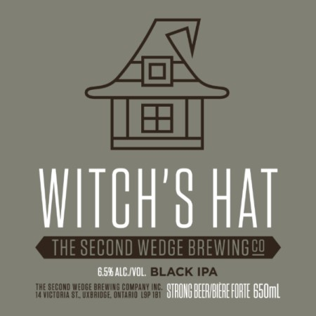 Second Wedge Brewing Bringing Back Witch's Hat Black IPA